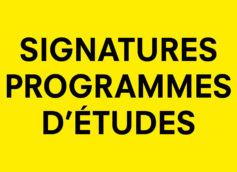Programme D'études Web